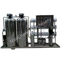 Automatic / Manual Pure Water Purification Systems Stainless Steel Machine Frame Manufactures