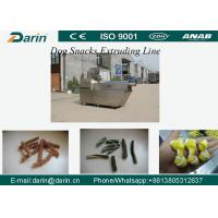 SUS304 Material Dog Snacks / Pet Treats Dog Food Extruder Machine with WEG Motor Manufactures