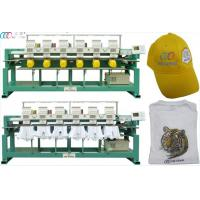 Six Head Clothes Nine Needle Digital Embroidery Machine With Servo Motor Manufactures