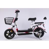 LCD Display Steel Frame Folding E Bike Drum Brake With CE And Lead Acid Battery Manufactures