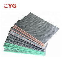 Aluminum Reflective XPE Self Adhesive Insulation Foam Plastic Sheet For Roof Manufactures