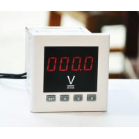 96*96mm Intelligent Digital Panel Voltmeter Single Phase With Transducing Output