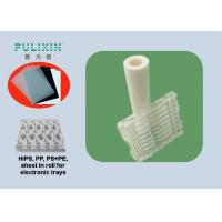 White Transparency PP Plastic Sheet Roll For ESD Blister / Skin Packing , Recycled Manufactures