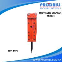 TRB135mm hydraulic breaker with chisel 1350 mm Manufactures