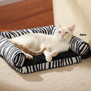 Buy cheap Tear Resistant Memory Foam Cat Bed , Zebra Print Memory Foam Mattress Dog Bed from wholesalers