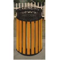 China Commercial Outside Garden Products LLDPE plastic/Wooden Rubbish Bin on sale