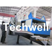 914-610 Mobile K Span Roll Forming Machine for 0.8 - 1.5mm K Span Arched Roof Panel Manufactures