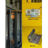 Buy cheap 420 / 600cm Rail Automatic Glass Sliding Doors Commercial With Selflearning from wholesalers