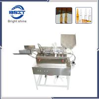 5ml empty glass ampoule bottle filling and sealing machine with 2 filling heads Manufactures