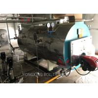 High Efficiency Gas Fired Hot Water Boiler Automatic Running Operation Manufactures