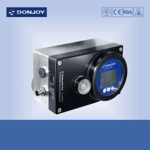 DC 24V Power intelligent valve positioner Square model Feature for 1 Inch Ball Valve