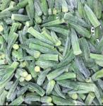 Cheap Cowpea Cut Organic Frozen Vegetables Frozen okra No Weak / Musty for sale