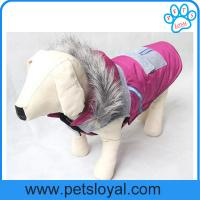 China Factory Wholesale Pet Product Supply Warm Winter Pet Dog Clothes on sale