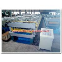 Double Layer Metal Roll Forming Machine for Manufacturing Steel & Aluminium Roof Panels Manufactures