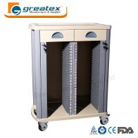 Medical Storage Cart  Case History Trolley with Drawers Hospital Trolley Manufactures