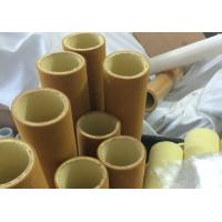 Brown Industrial High Temp Felt Roll High Abrasion PBO With Resin Manufactures