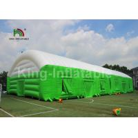 Custom Large PVC Material Green Inflatable Event Tent For Advertising Manufactures