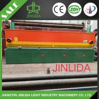 Hexagonal Netting Sheet Cutting Machine With PLC Control 4300mm Width And Color Is Green Manufactures