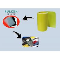 Yellow Both Side Matte Polypropylene Thermoform Plastic Sheets For Vacuum Forming Manufactures