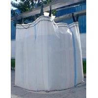Feed Stuff / Mineral Powder Foldable Starch Baffle Bag Jumbo Plastic Bag ISO 9001 2008 Manufactures