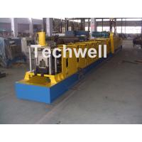 Wall Plate Structure Cold Roll Forming Machine With 0-15m/Min Forming Speed For Making Top Hat Channel Manufactures