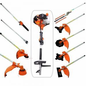 Multi 52CC 2-strokes 9 in 1 Multi brush cutter grass trimmer lawn mower tree pruner tool garden work Manufactures