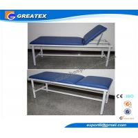 Portable medical office exam tables , Stainless Steel patient examination bed Manufactures