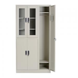 5 Door Multi Layer Wardrobe 185cm Closet Filing Cabinet Manufactures