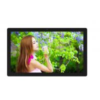 250cm / D Wall Mounted Digital Signage For Restaurants , Plastic Case LCD AD Player Manufactures