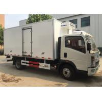 Low Temperature Refrigerator Truck / LHD 4X2 Refrigerated Food Truck Manufactures