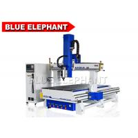 China Blue Elephant 4 Axis CNC Router Machine Auto Tool Changer Wood Engraving and Carving Machine on sale
