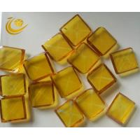 Yellow Large Synthetic Diamond For Metal Processing:Cast Iron Disc Grinding Manufactures