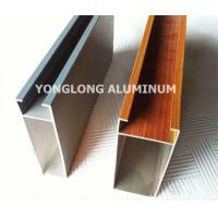 Multifunctional Curtain Wall Aluminium Profiles For Decoration Rectangle Shape Manufactures