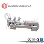 Edible Oil / Lotion / 2 nozzles Liquid Filling Machine Vacuum Volumetric 5 - 20 Pcs / Min Manufactures