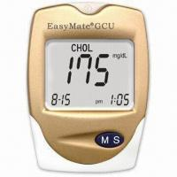 Buy cheap Uric Acid Meter with 30 to 55% Hematocrit Range and Time/Date Display, Measures from wholesalers