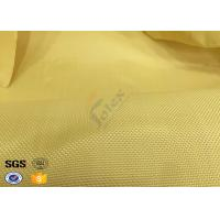 Fire Resistant Bulletproof Plain Kevlar Aramid Fabric For Aerospace , Chemical Manufactures