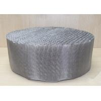 China Scrubbing Tower 316 Stainless Steel Wire Mesh Metal Wire Gauze Packing on sale