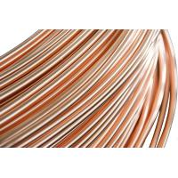 Refrigeration Copper Tube , Single wall  Steel Pipes 4.76 * 0.65 mm Manufactures