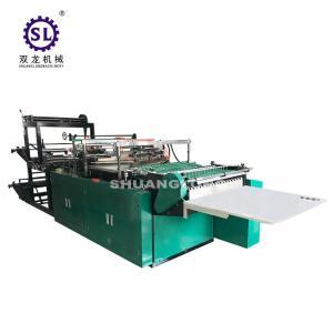 BOPP Plastic Flower Side Sealing Bag Making Machine 6000*1400*1600 MM Dimension Manufactures