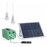 10Watt Portable safe Solar Power Backup Generator energy system for home Manufactures