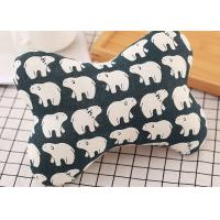 China Fully Filling Bone Shaped Neck Pillow , Car Seat Neck Pillow For Children on sale