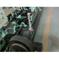 Automatic Chain Link Fence Machine , 1.8mm - 2.2mm Diameter Barbed Wire Making Machine Manufactures