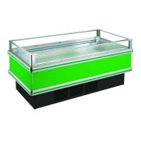 Clear Glasses Open Single Chest Deep Freezer For Frozen Seafood Fish Manufactures
