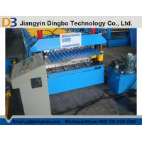 5.5KW Corrugated Roof Panel Roll Forming Machine 0.3mm - 0.8mm thickness Manufactures