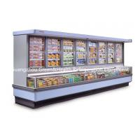 Painted Steel Combined Display Refrigerator Island Freezer With Big Capacity Manufactures