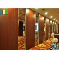 Cheap Wooden Surface Folding Partiion Walls , Operable Partition Walls for sale