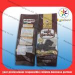 Mylar aluminum foil tea bags packaging with flexible valve Manufactures