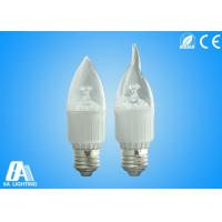 Candle Bulb Light - E27-Transparent Cover AC90-264V  With 2800-6500k White Manufactures