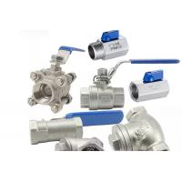 Threaded Female One Piece Stainless Steel Valves For Hydraulic Engineering Manufactures