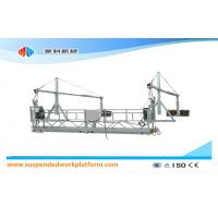 Construction Cleaning Suspended Gondola ZLP1000 With Hoist LTD10.0 Manufactures